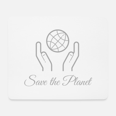 Écologique Save The Planet ! - Tapis de souris