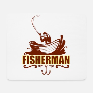 Fisherman Fisherman - Mouse Pad
