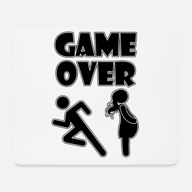 GAME OVER Pregnant - Mouse Pad