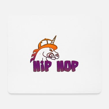Hip Hop Unicorn - Mouse Pad