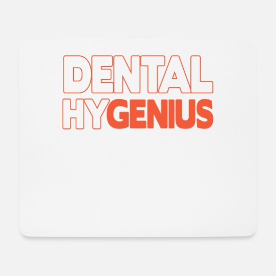 Dental Hiirimatot  - Dental Hygenius Dental Hygienist - Hiirimatto valkoinen