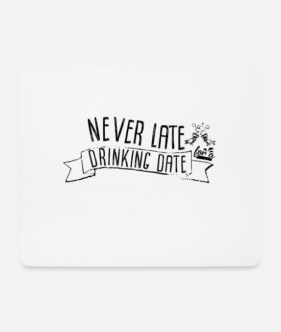 Celebrate Mouse Pads - Drink - Mouse Pad white