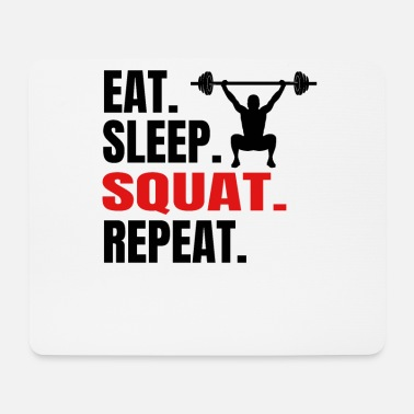 Squat Squat - Mousepad