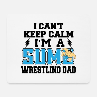 Wrestling Sumo Wrestling Dad Athlete Sports Gift - Mousepad