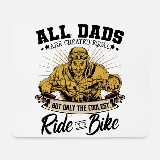 Father's Day Mouse Pads - father - Mouse Pad white
