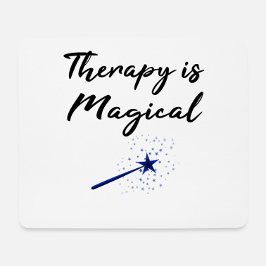 Mental Health Awareness Mental Health Awareness Therapy is Magical - Mouse Pad