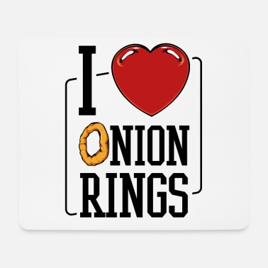 Tasty Onion rings - Mouse Pad