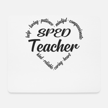 Special Special education special education teacher - Mouse Pad