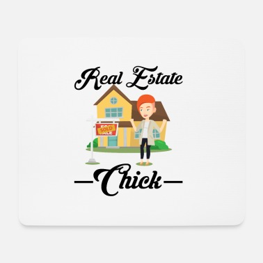 Real Estate Real estate chick - Mouse Pad