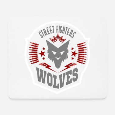 Street Fighter street fighters wolves - Mouse Pad