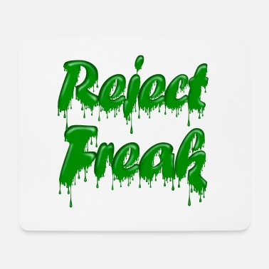 Green Gloop Reject Freak - Mouse Pad