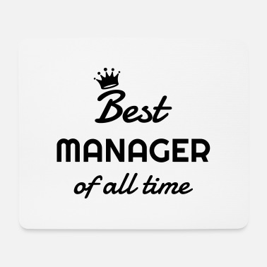 Angestellte Manager / Chef / Arbeit / Job - Mousepad