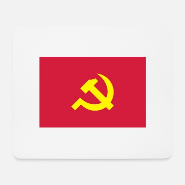 Communist Flag of the Communist - Mouse Pad