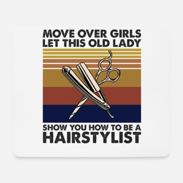 Rap Let This Old Lady Show You How To Be A Hairstylist - Mouse Pad