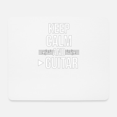 Emo Band Guitarist Rock Metal Music Koncert Gave - Mousepad (bredformat)