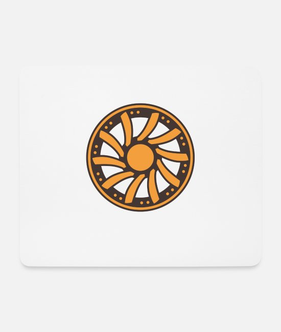 Birthday Mouse Pads - Rim rims wheel advice expensive car gift idea - Mouse Pad white