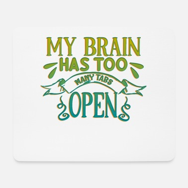 Open Brain Open - Tappetino mouse