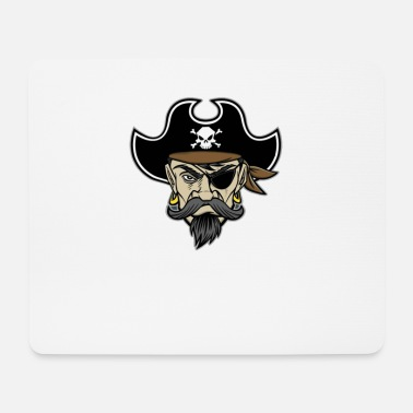 Pirate Pirate pirates pirate head - Mouse Pad