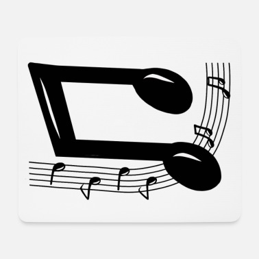 Note Clue Musical note - Mouse Pad