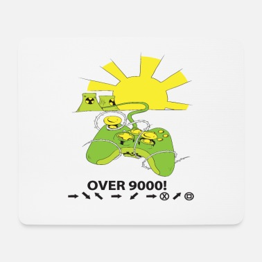 Game Over 9000! - Mouse Pad