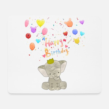 Happy Birthday Baby Elephant Birthday Happy Birthday - Musmatta