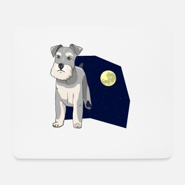 Paw Dog for dog lovers and animal lovers - Mouse Pad