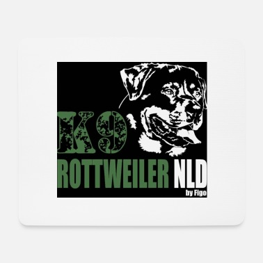 Rottweiler K9 - Mouse Pad