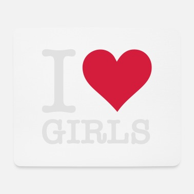 Nude Model I Love Girls - Mouse Pad