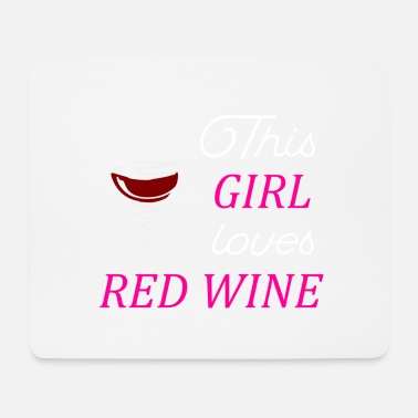 Birthday Lover Wine lover. Gift idea birthday - Mouse Pad