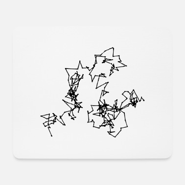 Motion Brownian Motion - Mouse Pad