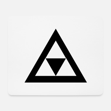 Triangle Triangle in the triangle - Mouse Pad
