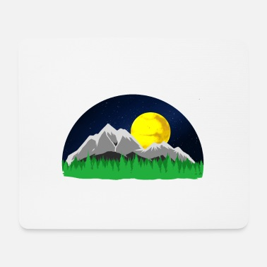 Mountains Mountains Mountains mountains - Mouse Pad
