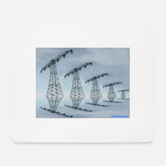 Art Mousepads  - SKYLINER - Mousepad Weiß