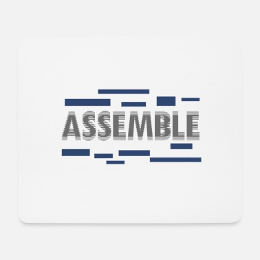 Assembly Assemble - Mouse Pad