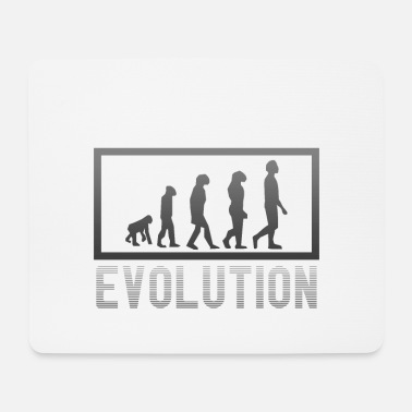 Stone Age Evolution from the Stone Age to today - Mouse Pad