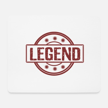 Red Legend in red - Legend in red - Mouse Pad