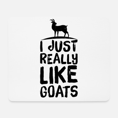 Goat Goat billy goat really like - Mouse Pad