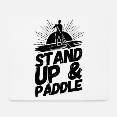 Stand Stand Up Paddling Sup Stand - Mouse Pad