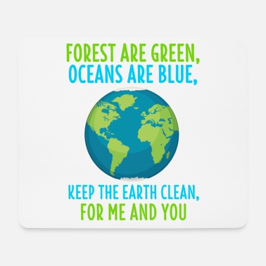 Protection Of The Environment Environmental Shirt Climate Change Eco Environmental Gift - Mouse Pad