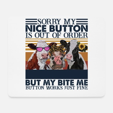 Corona Nice Button Is Out Of Order Me Button Works - Tapis de souris