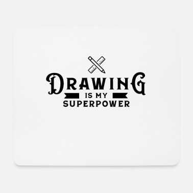 Drawing Drawing Drawing Draftsman drawing drawing - Mouse Pad