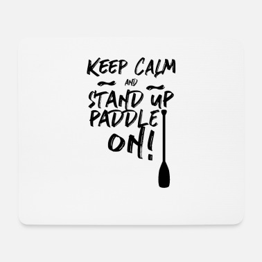 Stand Up Paddle Stand Up Paddling SUP Stand Up Paddler - Tapis de souris