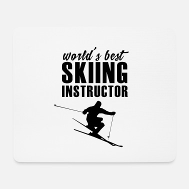 Ski Instructor Ski Skiing Ski Instructor Ski Instructor Ski Instructor - Mouse Pad