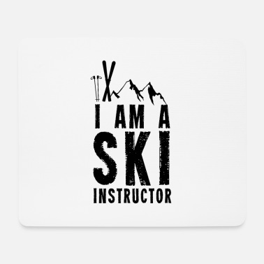 Ski Instructor Ski instructor Ski instructor Skiing Ski Instructor Ski - Mouse Pad