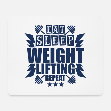 Weightlifting Weightlifter Weightlifter Weightlifter - Mouse Pad