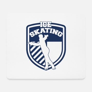 Ice Skating Figure skating Ice skating Ice skating Ice skating Sport - Mouse Pad
