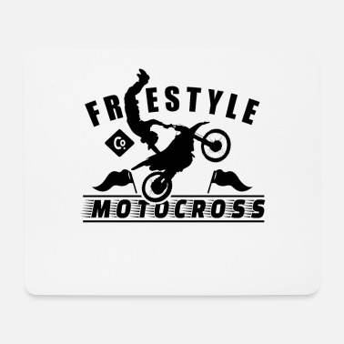 Motocross Motocross Pilota Motocross Motociclista Motocross - Tappetino mouse