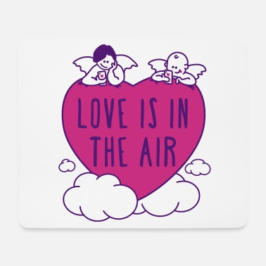valentine - love is in the air 3c - Mousepad