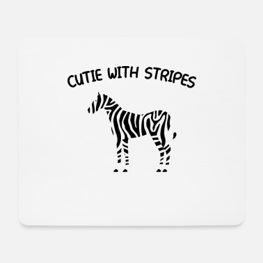Zebra Stripes Zebra Stripes - Mouse Pad
