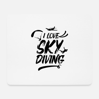Skydiving Skydiver skydiver - Mouse Pad